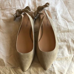 NWOB taupe suede size 9 flats from Sole Society